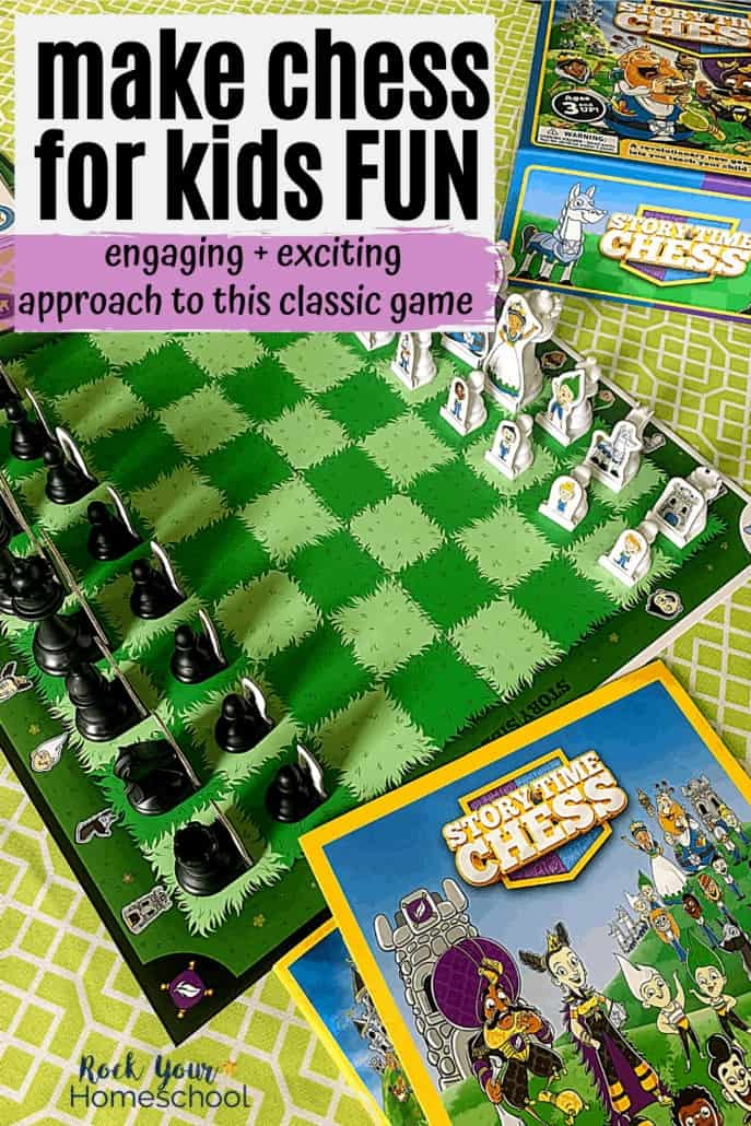 An Exciting & Easy Way to Make Chess for Kids Fun