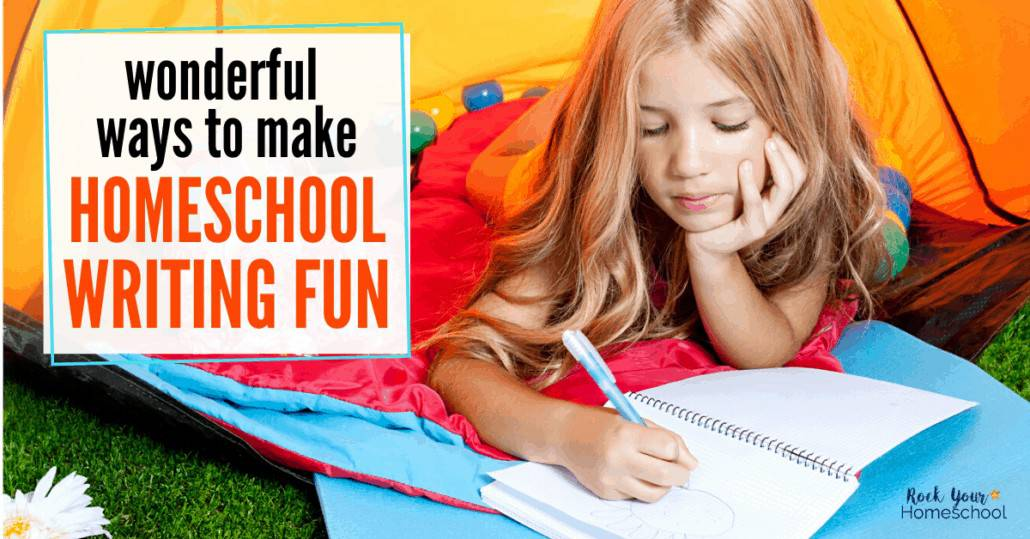 Discover how to make homeschool writing fun with these outstanding ideas & inspiration from homeschoolers like you.