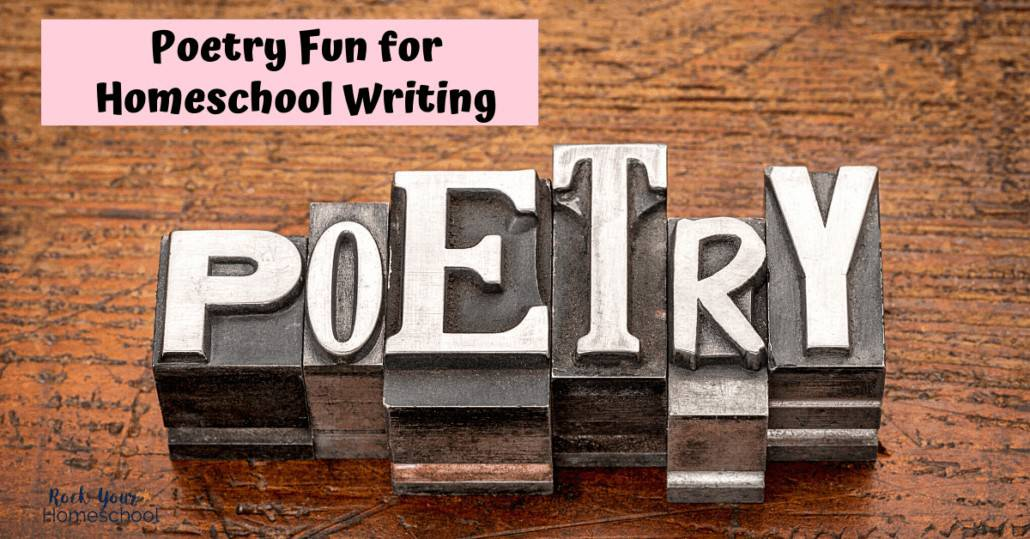 You'll love these ideas & inspiration for poetry activities & more to make homeschool writing fun.