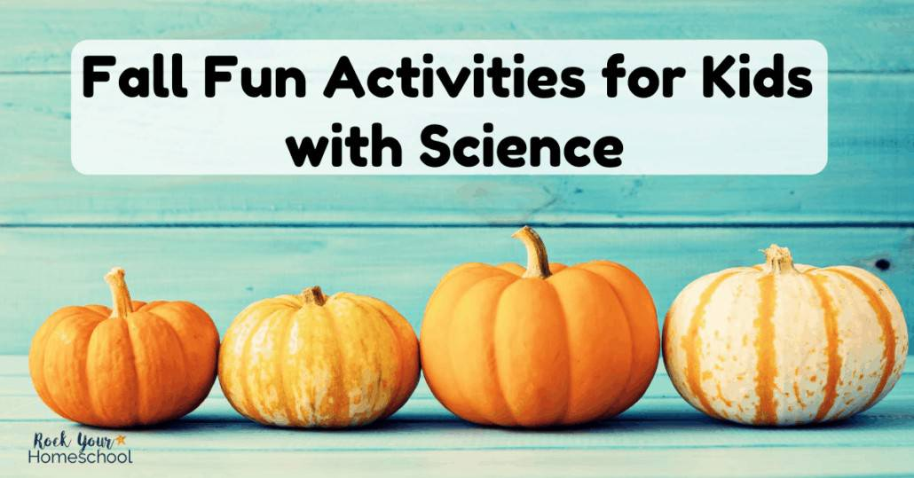 Have Fall science fun with these Autumn activities.