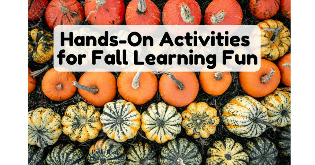 Explore the season with these hands-on fun Fall activities for kids.