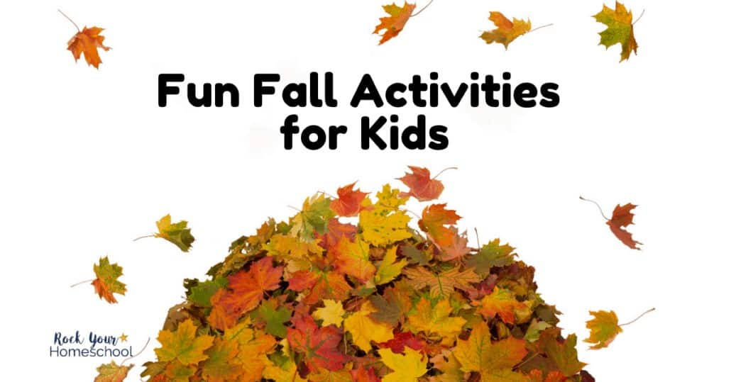 You'll find fantastic ideas & resources for fun Fall activities for kids with this epic list.