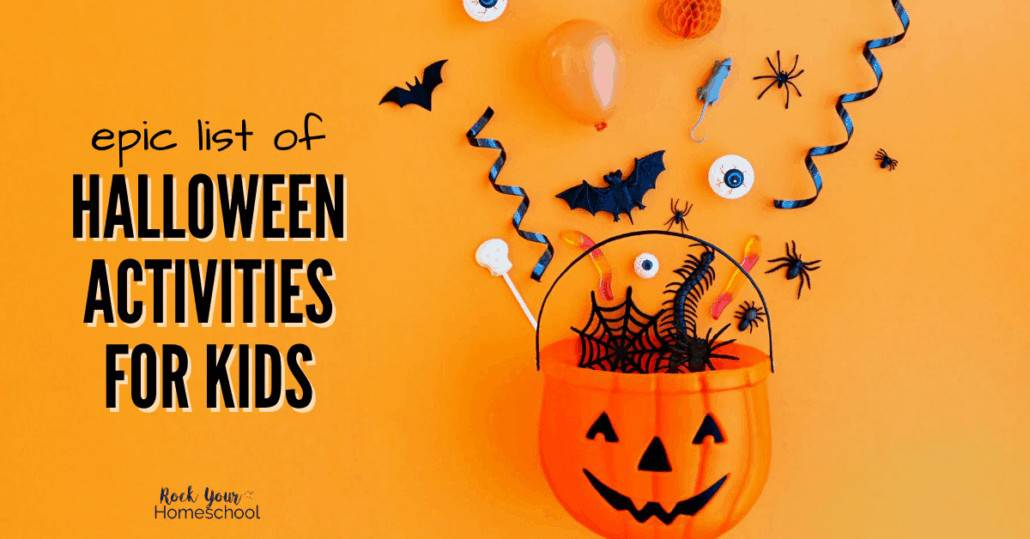 This epic list of Halloween activities for kids will help you plan & prepare for amazing holiday fun, even if your celebration looks different this year.