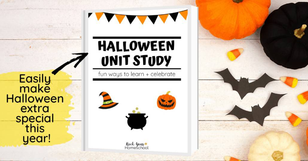 Enjoy a special learning fun celebration this year with this Halloween unit study. Awesome resources and activities that your kids will love.