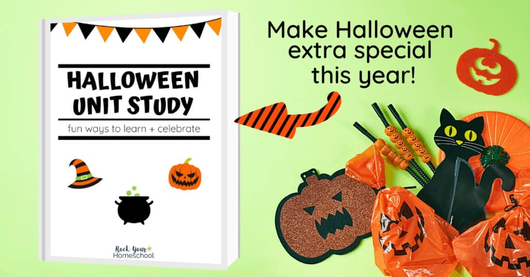 Easily make your Halloween extra special this year! This Halloween unit study will help you boost learning fun & enjoy an excellent celebration.