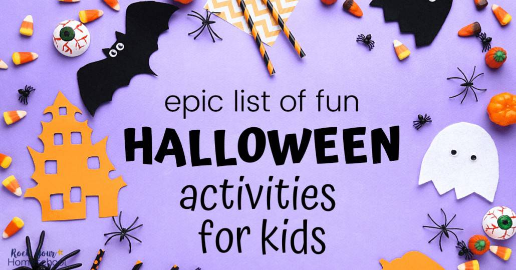Discover excellent ways to make this holiday special (even if things are different this year) with this epic list of Halloween activities for kids.