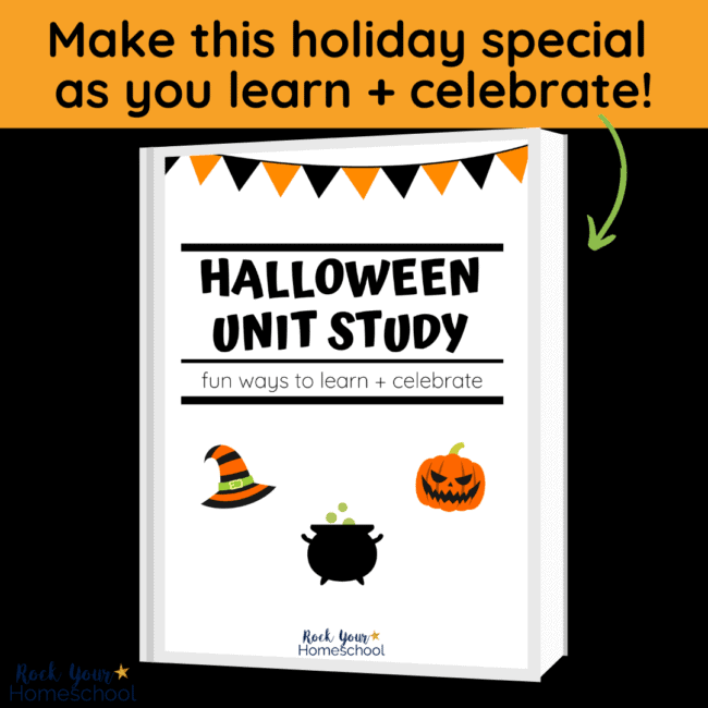 This Halloween Unit Study is a fantastic way to enjoy learning fun as you celebrate the holiday.