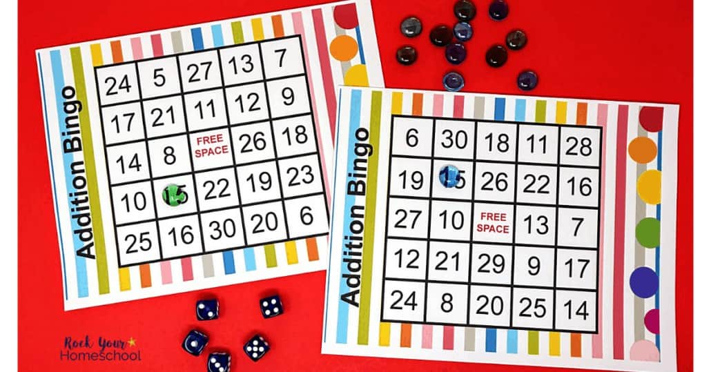 Enjoy fun games & hands-on addition activities for simple math fun with your kids.
