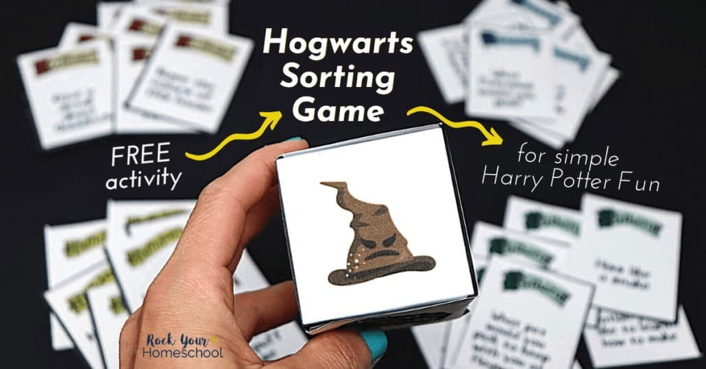 Have fantastic Harry Potter fun with this free Hogwarts Sorting Game.