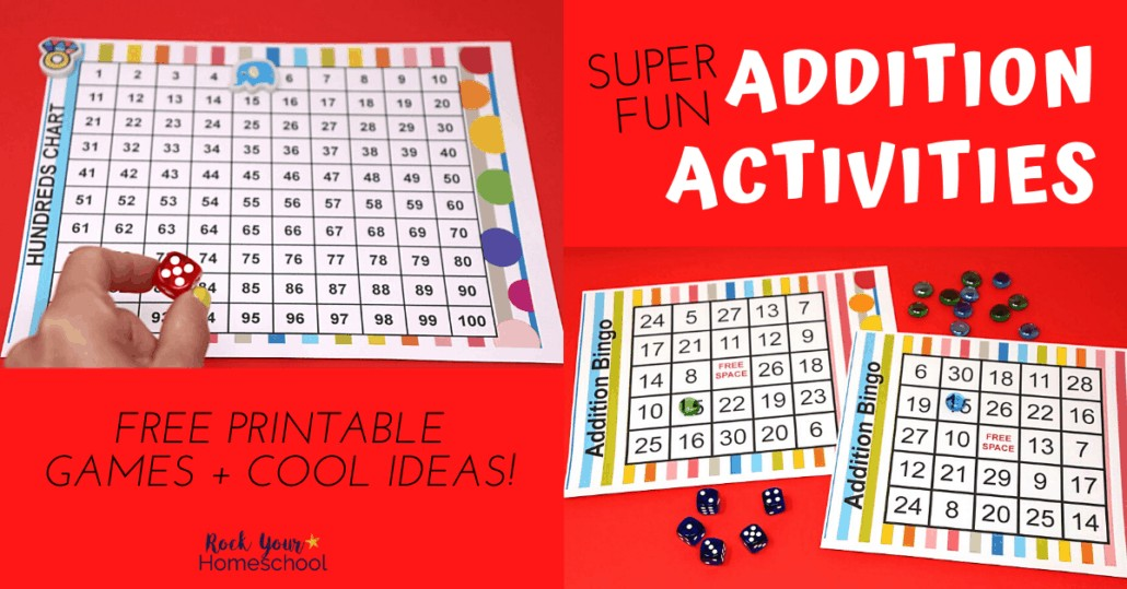 Make math fun with these hands-on addition activities & games. These free printables & cool ideas will be huge hits with your kids.