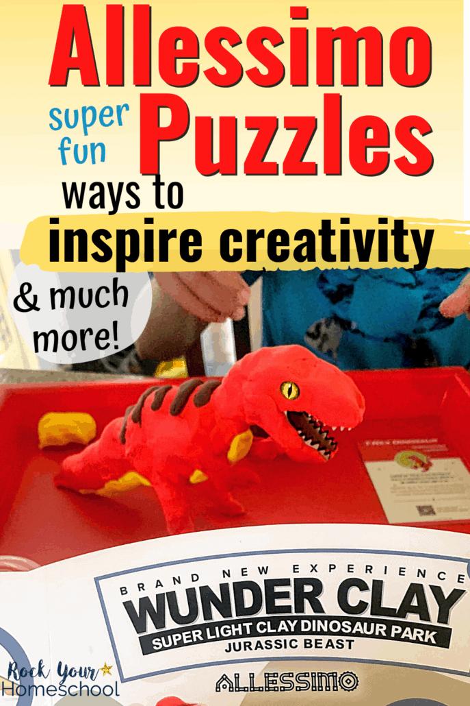 Allessimo Puzzles: Super Fun Ways to Inspire Creativity & More