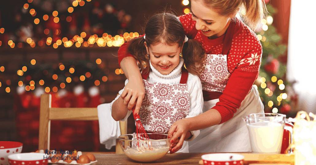 Get great tips & ideas for frugal and fun Christmas Activities for families, like simple baking.