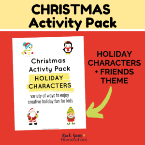 This Christmas Activity Pack featuring Holiday Characters & Friends theme is an amazing way to enjoy holiday fun for kids.