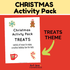Make this holiday season extra special with this Christmas Activity Pack featuring treats.