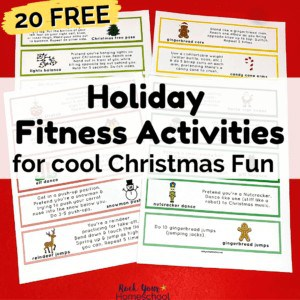 These 20 free Holiday Fitness Activities for Kids are fantastic ways to help your kids enjoy special Christmas fun.