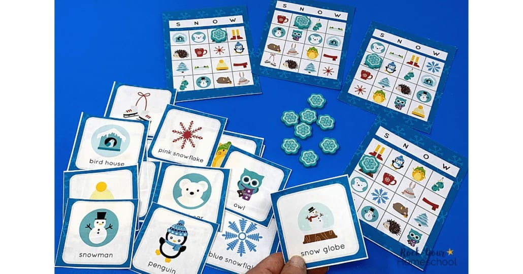 This bingo game with winter themes is an awesome way to enjoy fun this season.