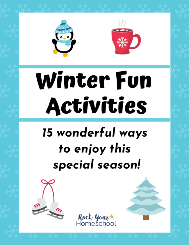 This Winter Fun Activities pack is a wonderful way to enjoy special activities to celebrate this season.