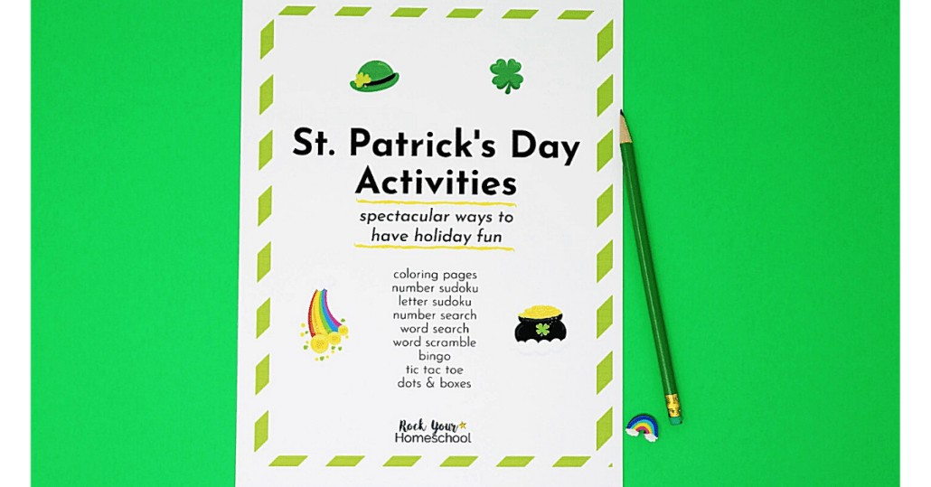 Make this holiday extra special with this St. Patrick's Day activities pack for fun ways to celebrate with your kids.