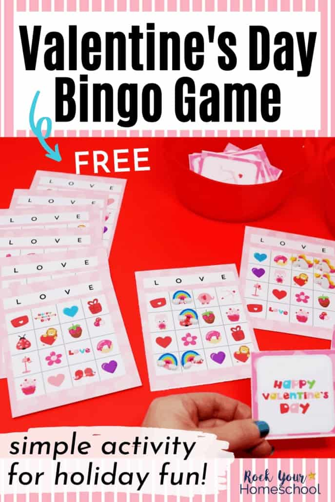 Free Valentine's Day Bingo Game for Special Holiday Fun