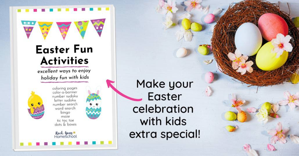 Make your Easter celebration with kids extra special with this Easter Activities Pack. It's filled with a variety of ways to get excited about the holiday.