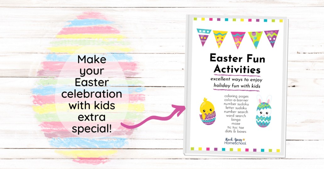 This Easter Activities Pack is an excellent way to enjoy a special holiday celebration with your kids.