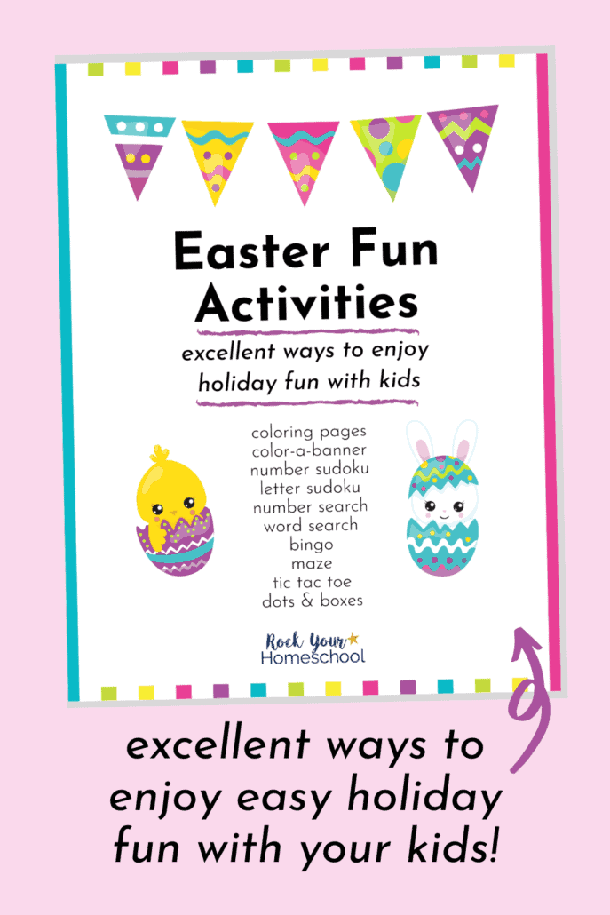 Easter Activities Pack to Make It Easy to Enjoy Holiday Fun with Kids