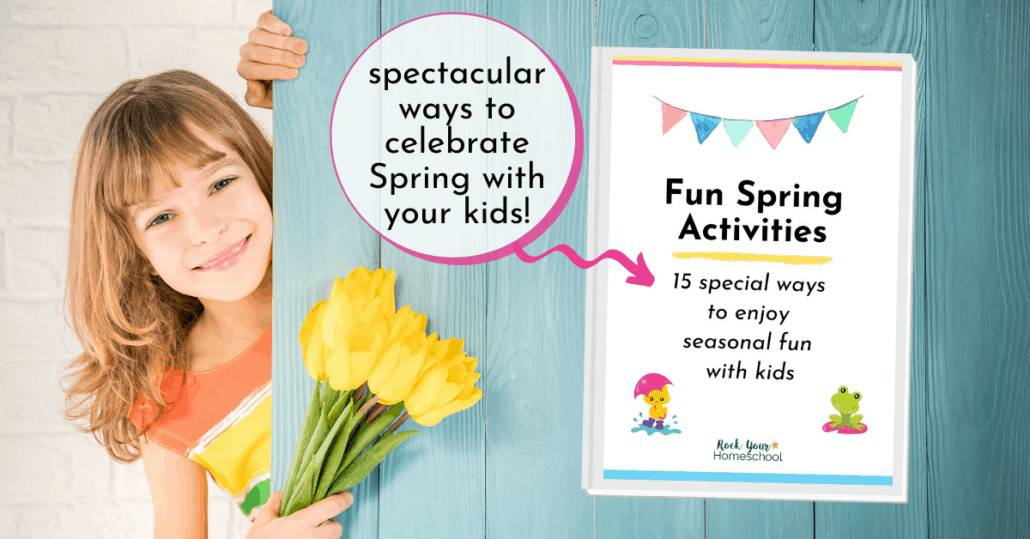 This Spring Activities for Kids pack is an excellent way to easily give your kids seasonal games, coloring pages, word puzzles, & more.
