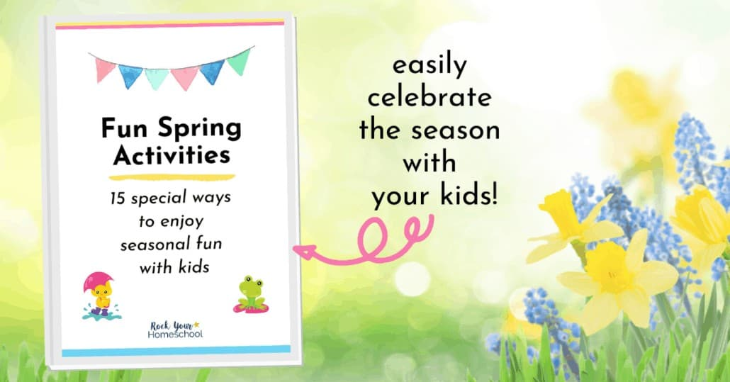 This Spring Activities for Kids pack is a delightful way to easily give your kids fun seasonal games, coloring pages, & more.