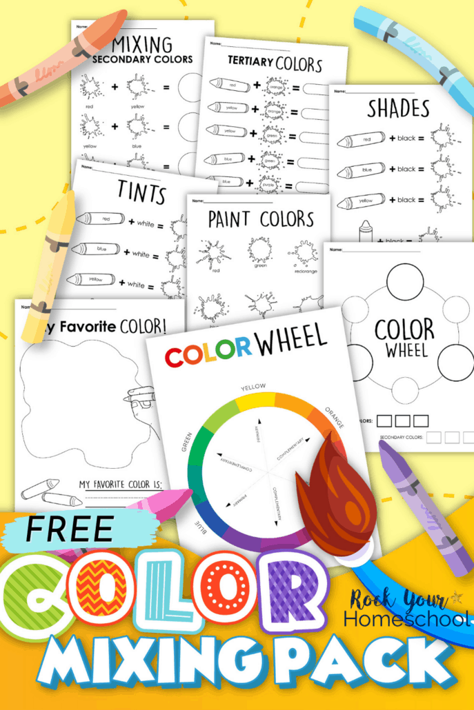 Free Color Mixing Activities for Kids to Enjoy Art Fun