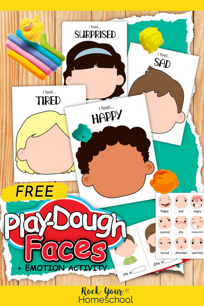 15 Free Playdough Emotions Activities for Powerful Learning for Kids