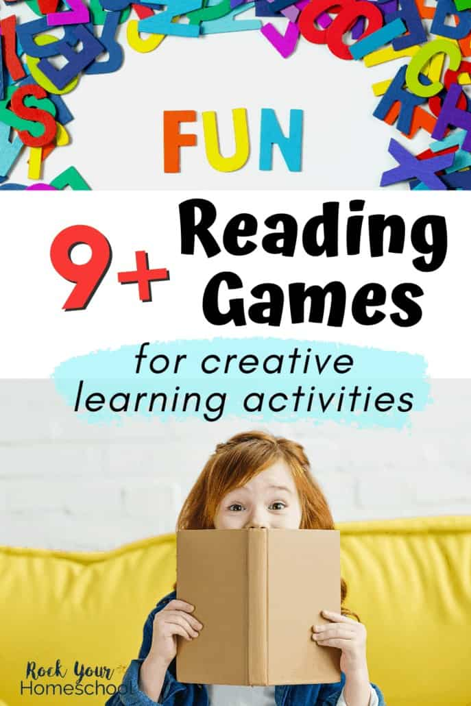 9+ Fun Reading Games for Kids for Creative Learning Activities