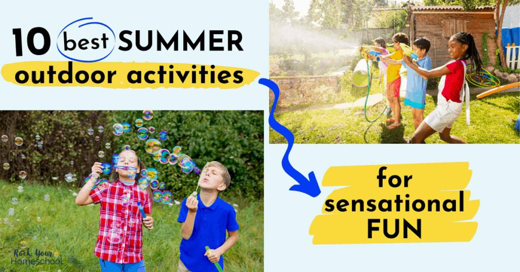 Make this summer extra special with your kids using these 10 best summer outdoor activities.