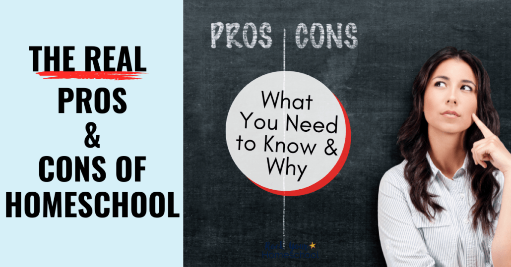 Check out these lists of homeschooling pros and cons to help you decide if a homeschool life is best for your family.