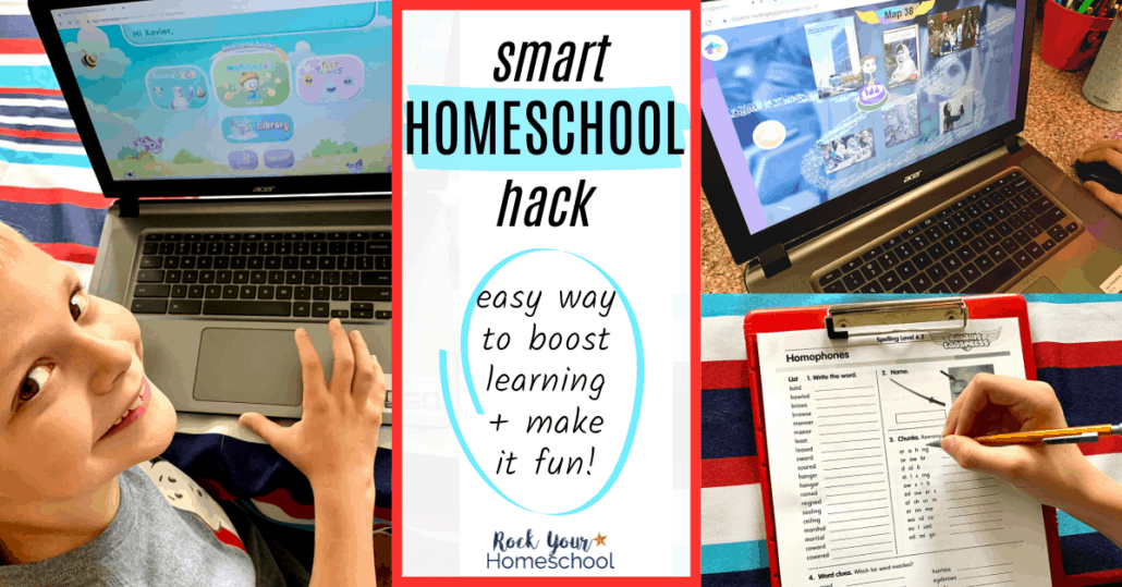 Find out how you can use Reading Eggs (+ Reading Eggspress, Reading Eggs Junior, Fast Phonics, & Mathseeds) to easily boost learning & make it fun. Such a smart homeschool hack!