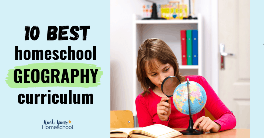 Trying to decide what to use for a geography program? Check out this list of the 10 best homeschool geography curriculum options.
