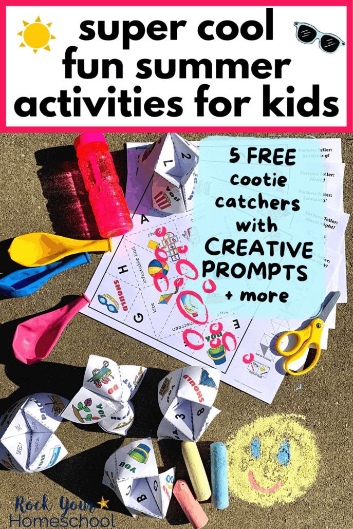 5 Free Cootie Catchers to Inspire Creative Fun Summer Activities for Kids