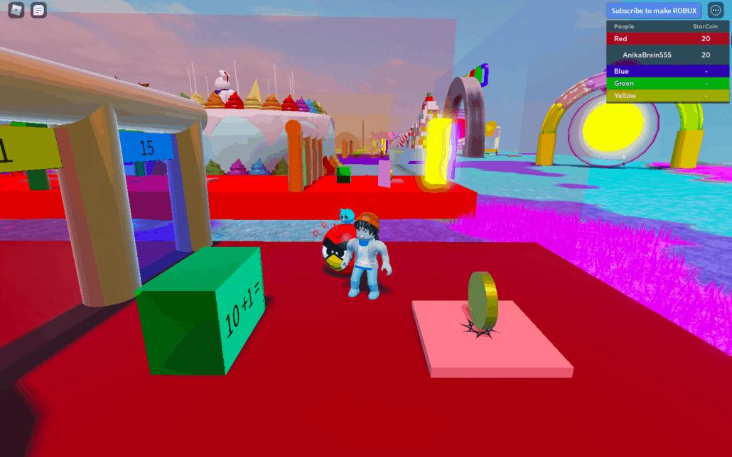 Brainika has fun math games for kids on Roblox.