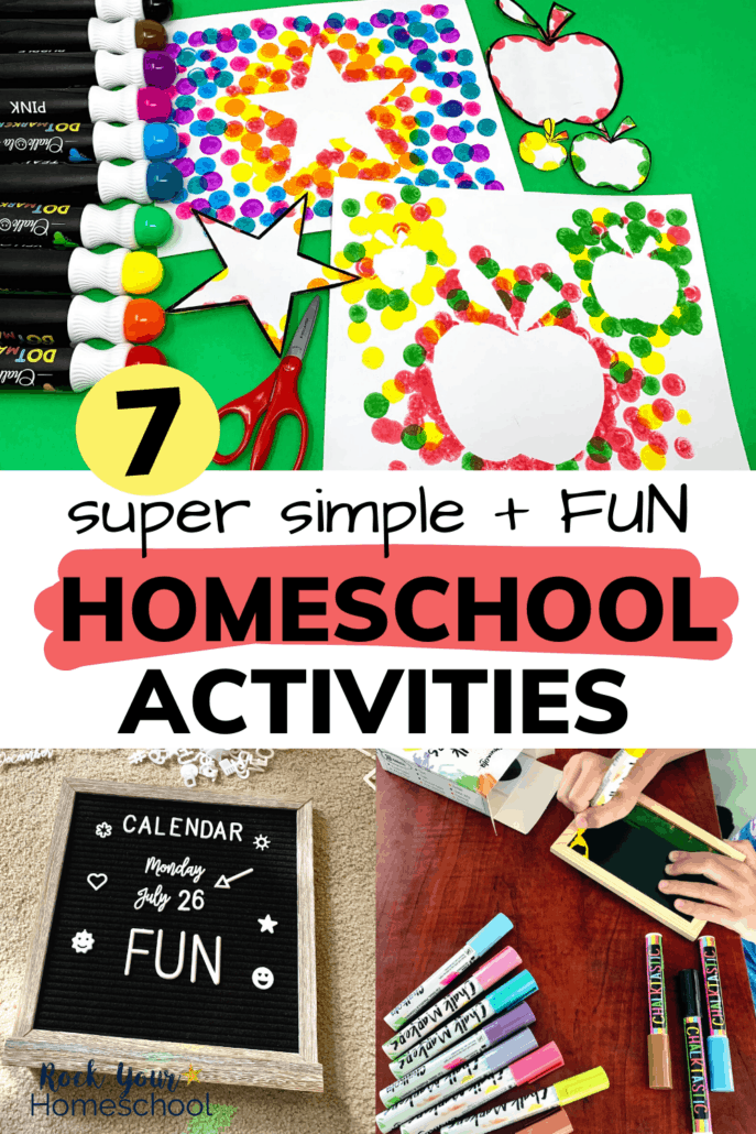 7 Fun Homeschool Activities You Can Enjoy with These Super Cool Art Supplies