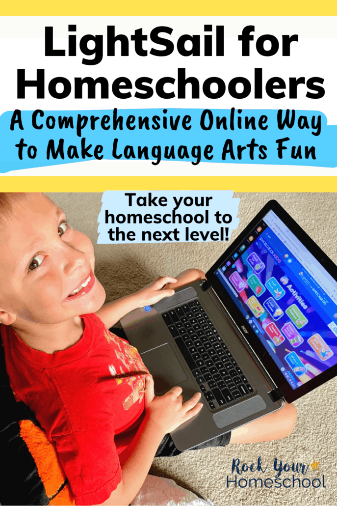 LightSail for Homeschoolers: A Comprehensive Online Way to Make Language Arts Fun