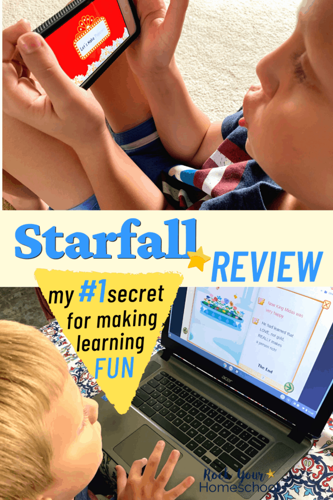 Starfall Review: My #1 Secret to Easily Make Learning Fun for Kids