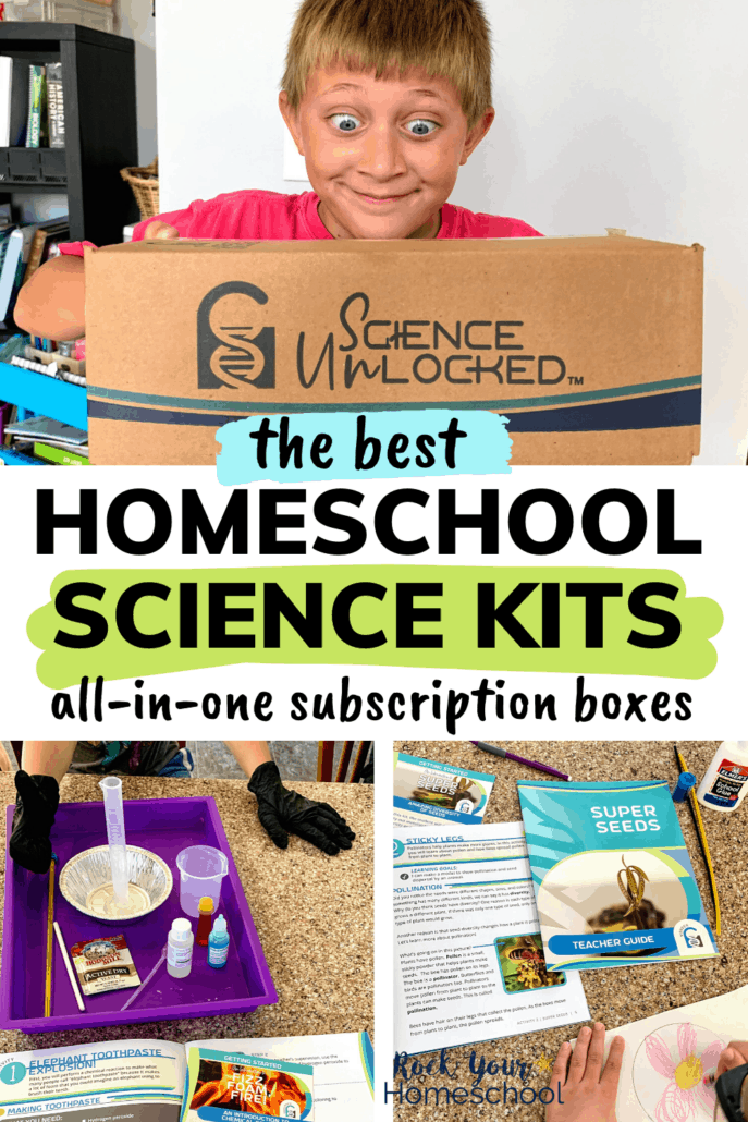 The Best Homeschool Science Kits for All-in-One Solutions to Make Learning Fun