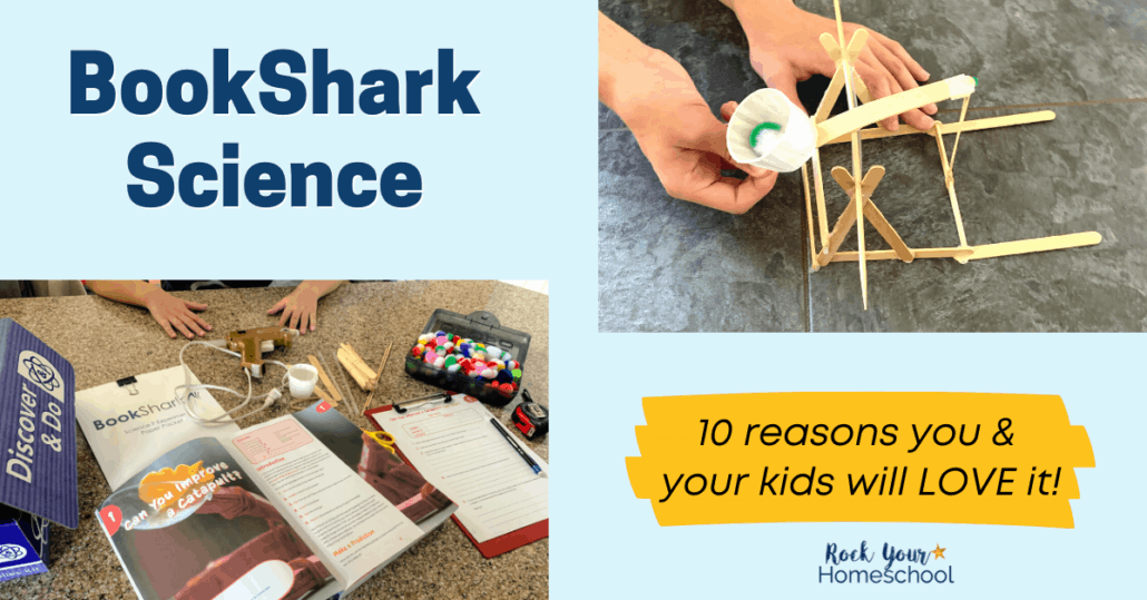 Check out these 10 reasons why you and your kids will love BookShark Science. These curriculum packages are powerful ways to enjoy hands-on learning with your kids.
