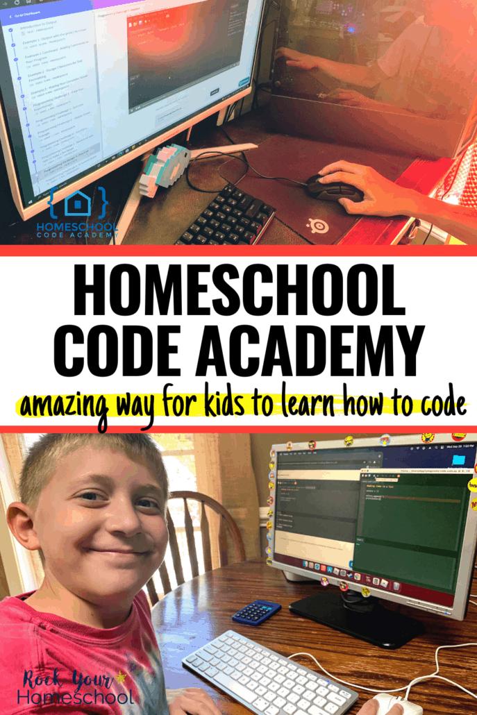 Homeschool Code Academy: Amazing Way for Kids to Learn How to Code