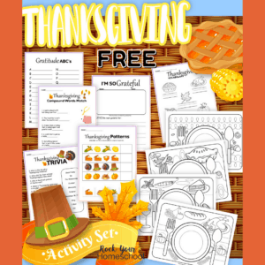 Grab this free Thanksgiving printables pack for super fun holiday activities.